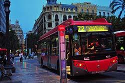 Valencia, Nachtbus