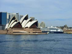 Sydney Opera House in NSW, Australien
